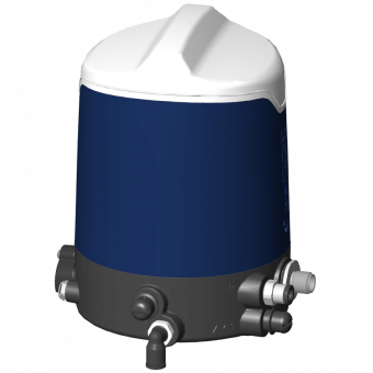 Boîtier de contrôle Sorio connecteur M12