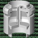 Clapet anti-retour étanchéité métal métal