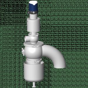 Event autonome AVX1 DN150-76 avec boîtier de contrôle Sorio
