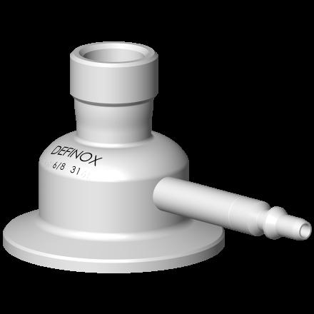 Option vanne prise d'échantillon PEX raccordement raccord rapide RBE03