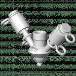 Option vanne prise d'échantillon PEX raccordement sortie 3 8'' gaz
