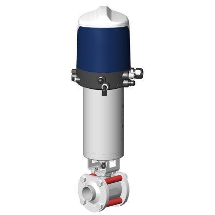 Vanne à boule automatique DBAX avec boîtier de contrôle Sorio