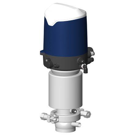 Vanne à membrane automatique DMAX avec boîtier de contrôle Sorio