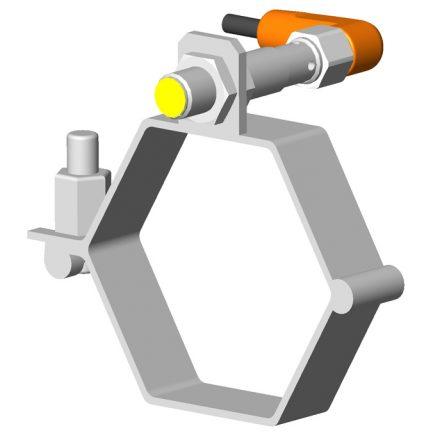Collier avec détecteur et connecteur
