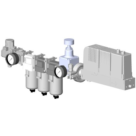 Module de traitement de l'air automatique gestion de la pression des sytèmes de raclage