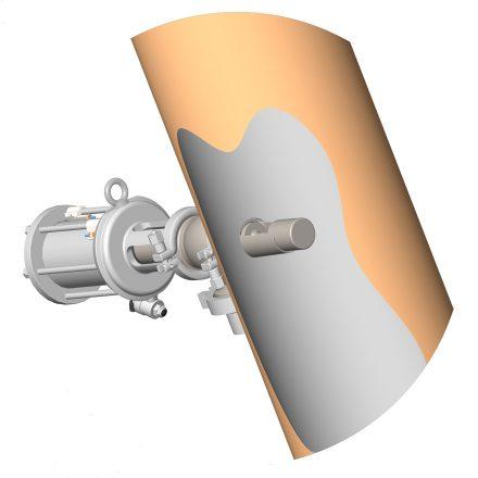 Piquage sur conduite vanne prise d'échantillon volumétrique PEV