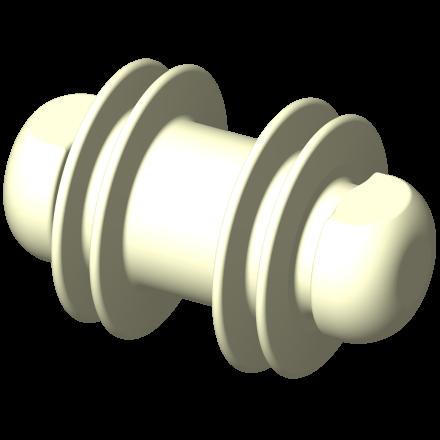 Racleur monobloc DN 25 Definox