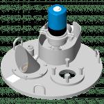 Tampon de dessus de tank DN 600 (7208609)