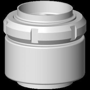 Butt-weld non-return valve