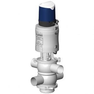 Mixproof valve VDCI MC with double indpendent plugs and Sorio control top