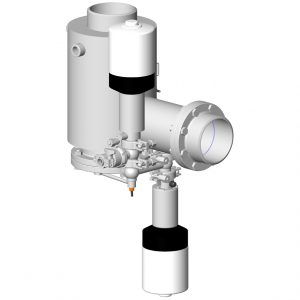 Secured stop station for double-wall high pressure pigging system