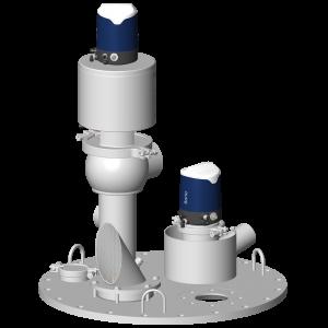 Tank top module with Sorio control top