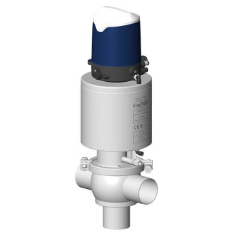 DCX3 aseptic shut-off valve with Sorio control top