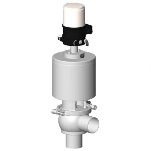 DCX3 regulating shut-off valve L body