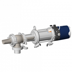 Volumetric sampling valve PEV with Sorio control top